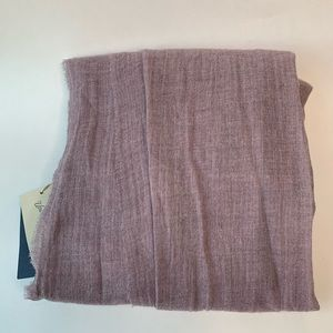 NWT Purple Oblong Scarf